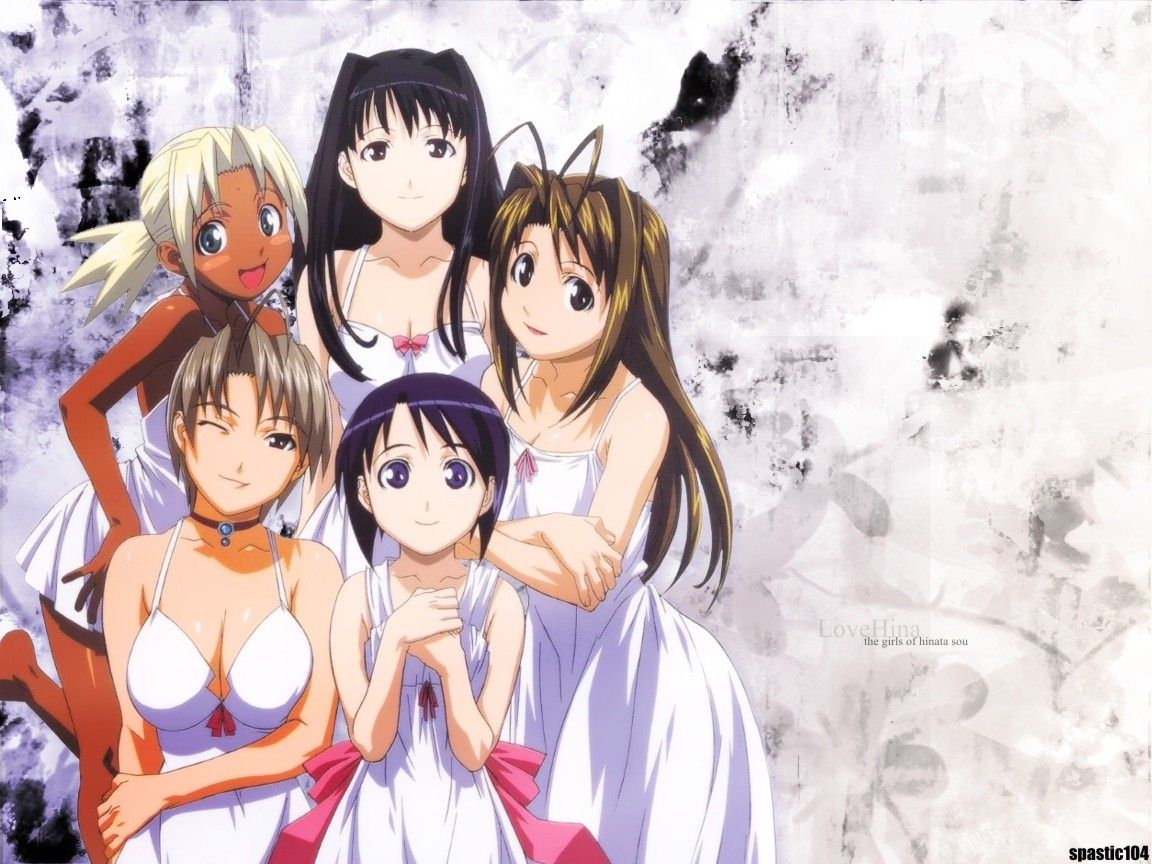 Previous, Cartoon - Love Hina hentai - Kitsune's nice tits.jpg